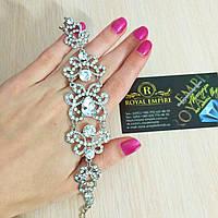"""Свадебный браслет """"Диана"""", шикарный и нарядный."""
