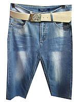Шорты женские джинсовые батальные