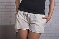 Шорты женские летние молочные, фото 1