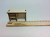 Кукольная мебель Письменный стол для PetShop, зверюшек, пони, творчества