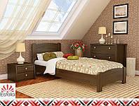 Деревянная кровать ВЕНЕЦИЯ ЛЮКС ТМ Эстелла, материал бук 8 цветов