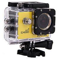 Экшн камера SJCAM SJ4000 Wi-fi Yellow