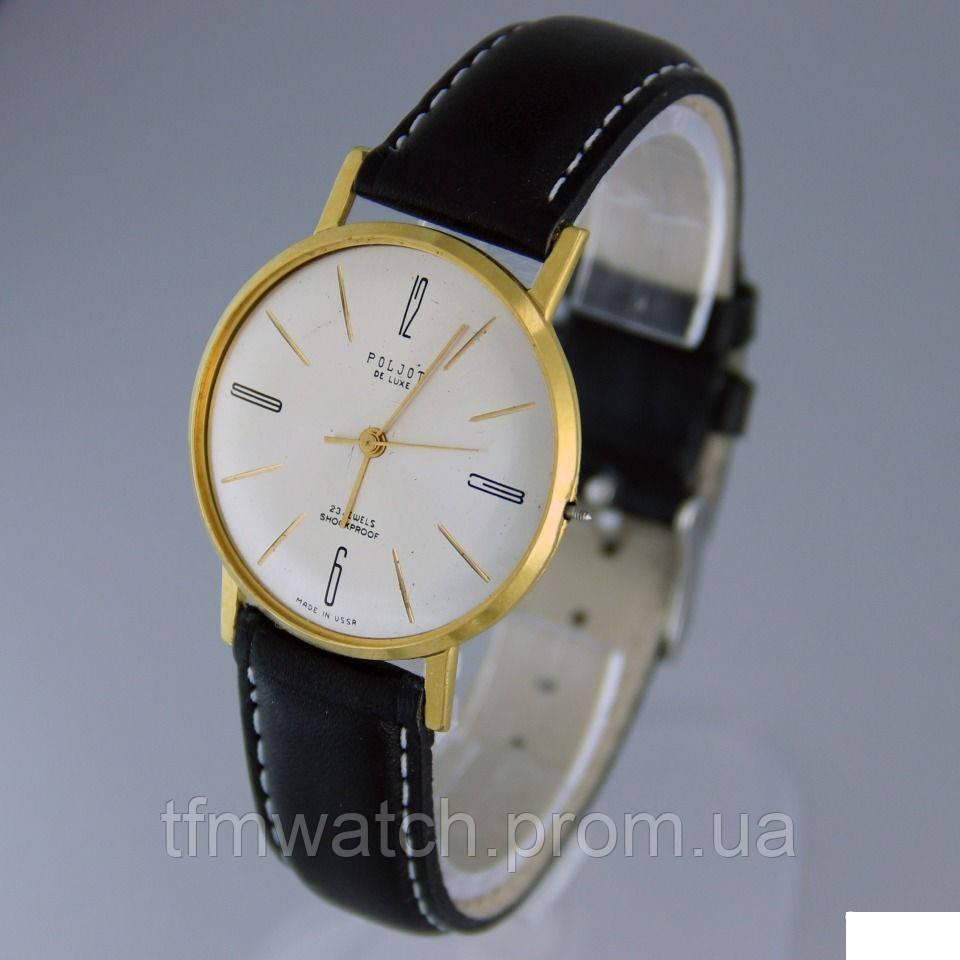 Poljot de luxe механические часы СССР 1965 год выпуска