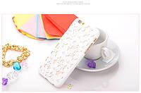 Чехол-накладка 3D Flower Candy Colour Pearl White для iPhone 6/6s, Винница