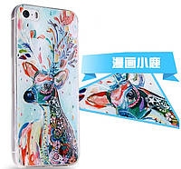 Чехол накладка 3D TPU Soft Silicon Case Skin для iPhone 5/5S, Винница
