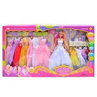 Кукла DEFA 8027 с нарядами (цвет может отличатся от фото)