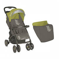 Прогулочная коляска Bertoni SMARTY ЧЕХОЛ (grey&green b-zone)