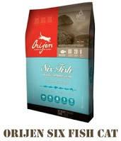 ORIJEN 6 Fresh FISH Cat&Kitten 2,27 кг
