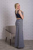 Платье летнее полоска в пол, фото 1