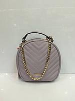 Женская сумка клатч David Jones 1692 бледно- феолетового цвета