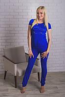Костюм женский со штанами электрик, фото 1