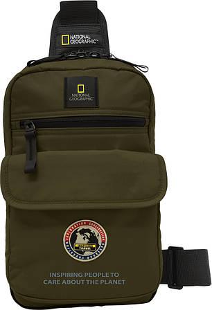 Рюкзак с карманом для планшета на одной лямке NATIONAL GEOGRAPHIC 01115;11, черный, 6 л.