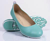 Женские кожаные туфли - балетки, разные цвета, 36-41 р-ры