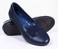 Женские туфли - балетки, кожа