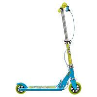 Детский 2-х колесный самокат для детей для детей OXELO PLAY 3 EASYBRAKE (голубой)