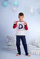 Піжама для хлопчика довгий рукав р.128-140, 100% хлопок, ELLEN