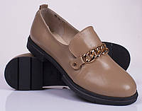Женские удобные кожаные туфли от 36 до 41 р-ра