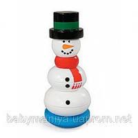 Развивающая игрушка Пирамидка - Снеговик Melissa & Doug