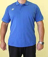 Мужская футболка Umbro 510114-071 ярко-синяя код 55В