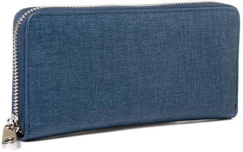 Красивый мужской кожаный клатч Hautton szb26blue, синий