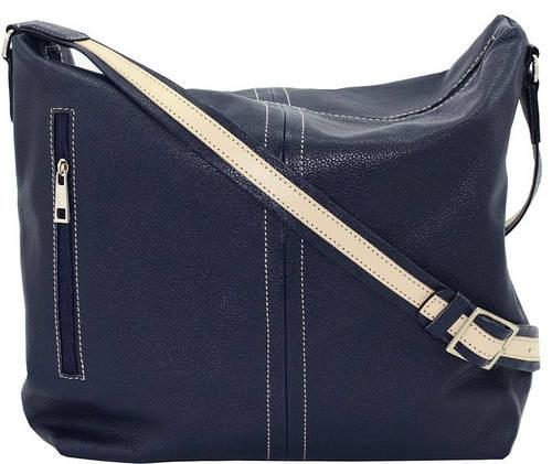Повседневная женская сумочка из натуральной кожи VATTO Wk53 Fl1, синий