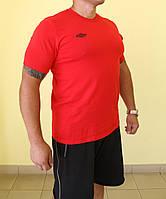 Мужская футболка Umbro 61784-7 красная код 82В