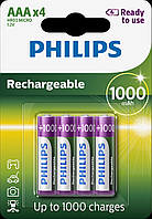 Aккумулятор ACCU Philips 1000 mAh HR03/AAA