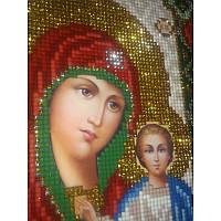 Икона Богородица Казанская . ArtSolo. Набор алмазной мозаики