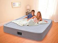 Кровать двуспальная надувная с насосом Intex 203х152х33 см.