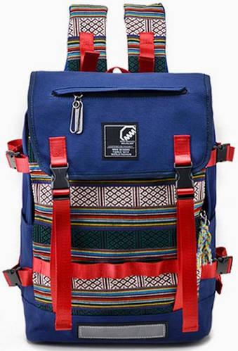 Модный городской рюкзак 17 л. MCJH 7025-01 синий