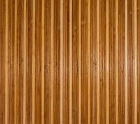 Бамбуковые обои темно-светлые 8 мм, ширина 250 см.