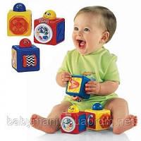 Детская интерактивная игрушка Движущиеся кубики Fisher-Price