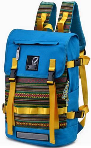 Незабываемый городской рюкзак 17 л. MCJH 7025-03 голубой