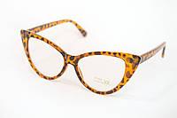Очки для стиля  леопардовые