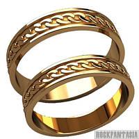 22 - Парные кольца из золота золотые