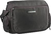 Молодежная деловая сумка с отделением для ноутбука Kite&More Kite K16-977K черный