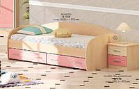 Кровать с выдвижными ящиками К-118 МДФ