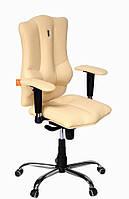 Кресло Elegance (Элеганс) экокожа бежевая (ТМ Kulik System)