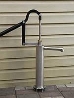 Ручная колонка для воды, ручной насос для дачи.