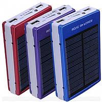 Солнечное зарядное устройство Power Bank 15000 mAh. Хорошее качество. Универсальный девайс. Купить Код: КДН260