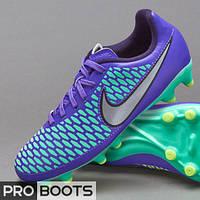 Детские футбольные бутсы Nike Magista Onda FG Junior Violet