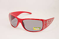 Детские очки с камнями Красные