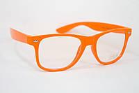 Очки для стиля оранжевые