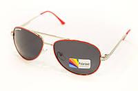 Детские очки polarized 13см (красная оправа)