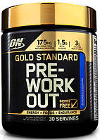 Инновационный предтренировочный комплекс Gold Standard Pre-Workout от Optimum Nutrition (30 порций)