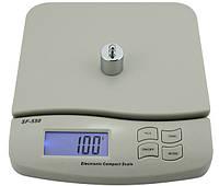 Весы электронные бытовые SF-550 25 кг 1г