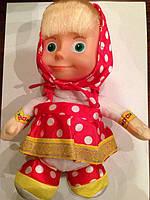 Маша говорящая кукла Повторюшка 21см