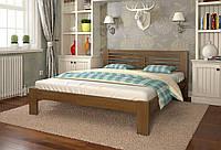 Кровать деревянная Шопен из натурального дерева двуспальная