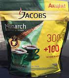 Кофе Jacobs Monarch 400 г. Якобс Монарх 400 | Кофе Касик Бразилия.Цена указана от 8 шт.