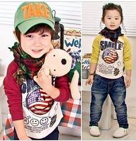 Стильный реглан для мальчика и девочки Рост 105-115 на 5-6 лет
